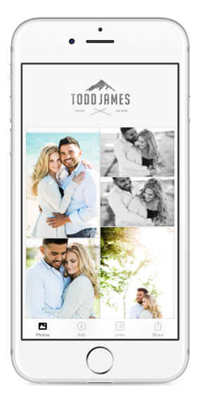 Personalized Mobile App with PhotoVid Gallery